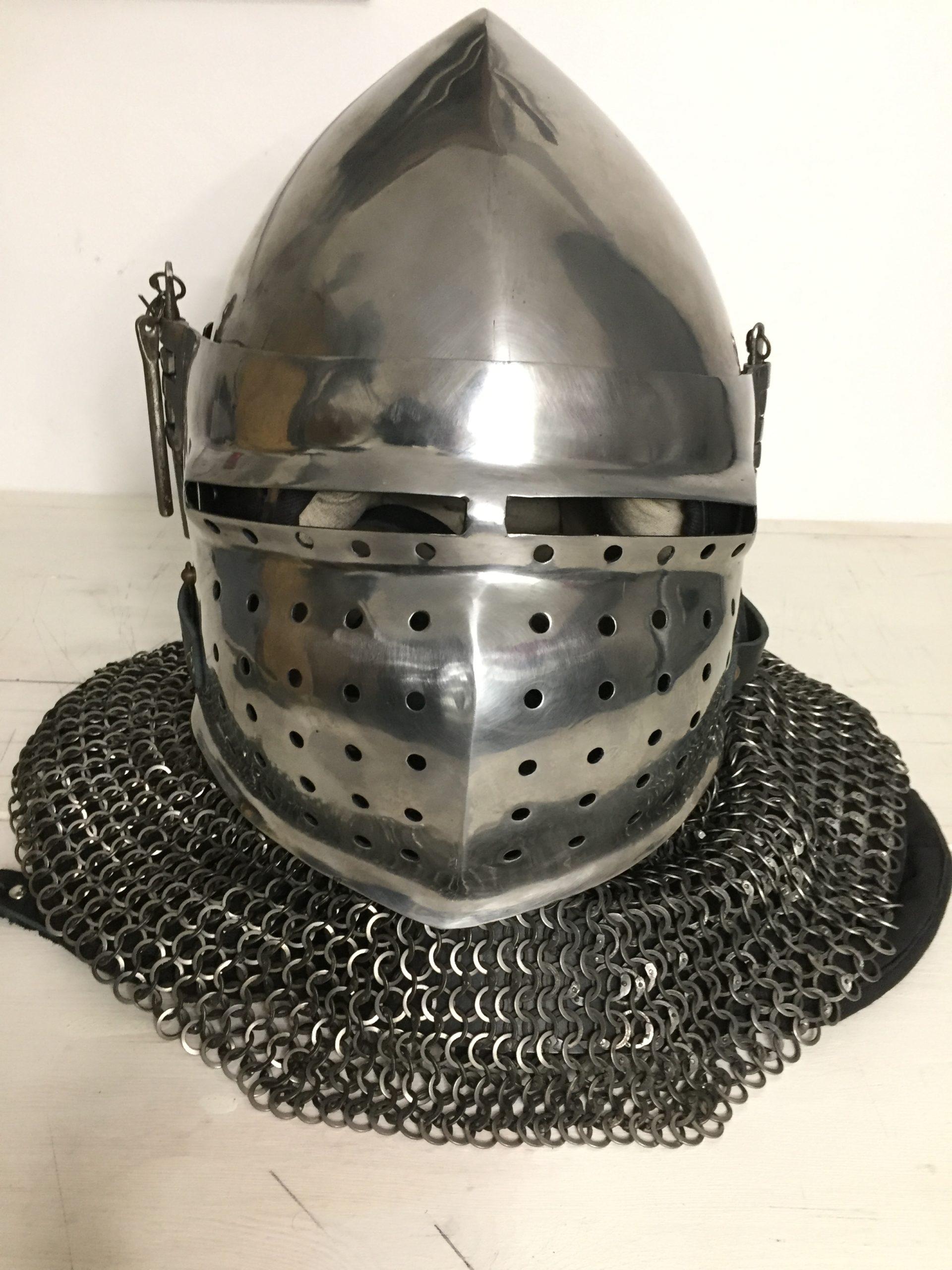 Used Hardened Steel Helmet (1)