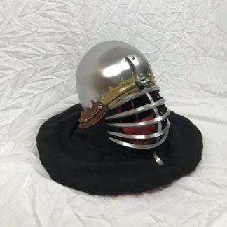 Buhurt Helmet 3mm hardened steel Wolfrib (2)